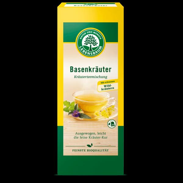 Bio Basenkräuter Tee, 20Btl.
