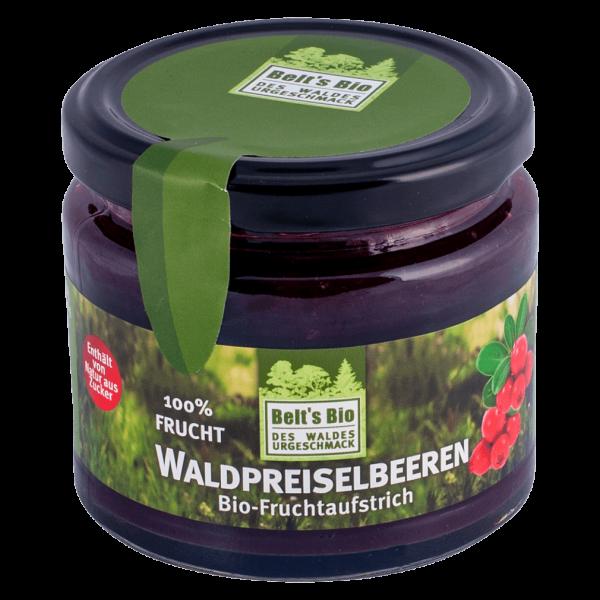 Belt's Bioprodukte Bio Fruchtaufstrich Waldpreiselbeeren