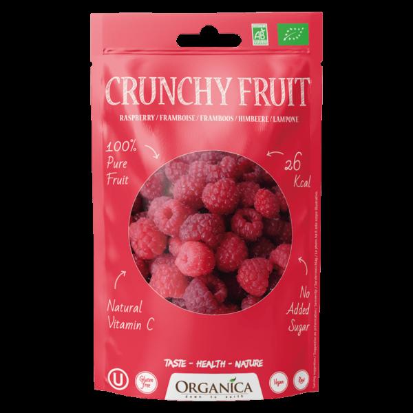 Organica Bio Crunchy Fruit, Himbeeren
