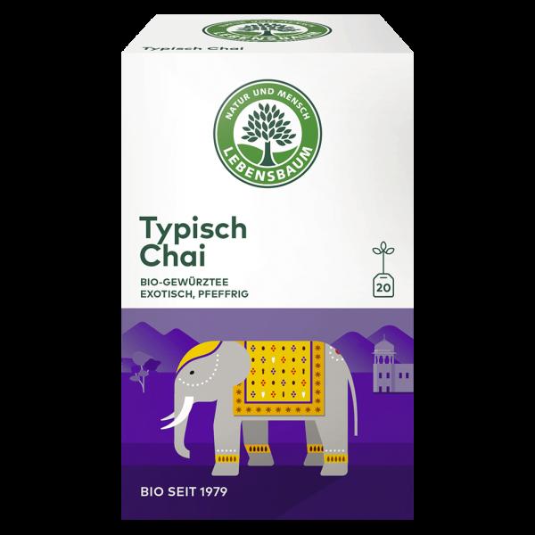 Lebensbaum Bio Typisch Chai Tee, 40g