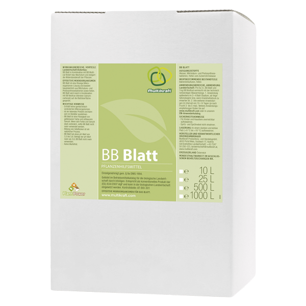 Multikraft BB Blatt, 10 L