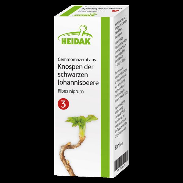 Heidak Gemmomazerat aus Knospen der schwarzen Johannisbeere, 30ml