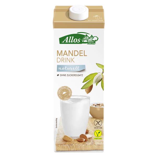 Bio Mandel-Drink naturell