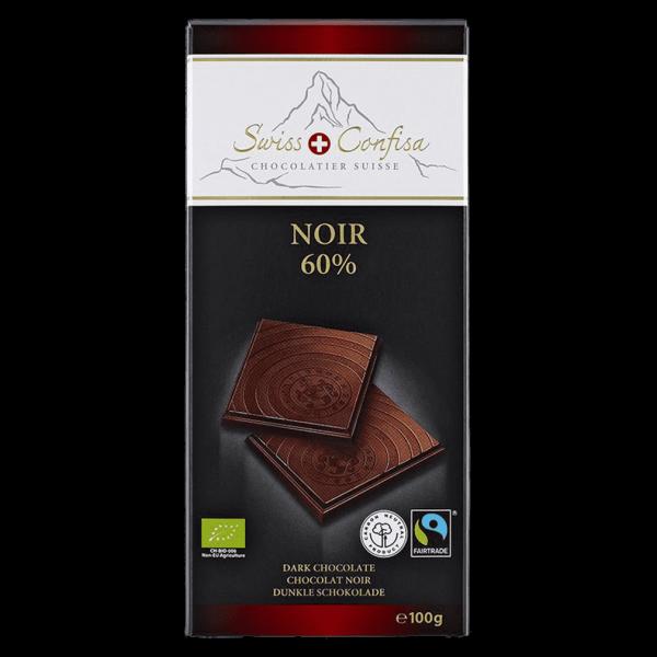 Swiss Confisa Bio Noir 60%
