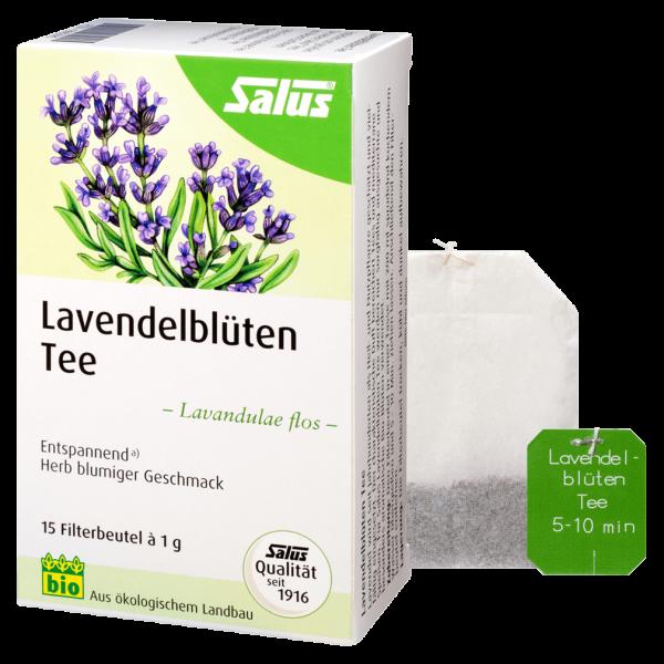 Salus Bio Lavendelblüten Tee
