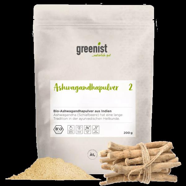 greenist Bio Ashwagandhapulver