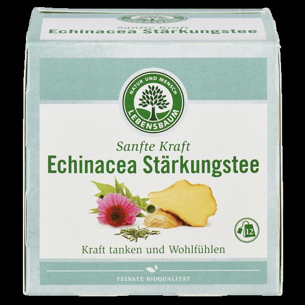 Lebensbaum Bio Echinacea Stärkungstee, 12 Beutel