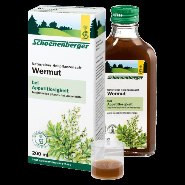 Schoenenberger Bio Wermut Heilpflanzensaft