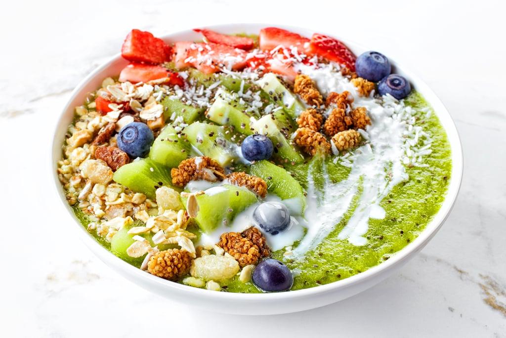 greenist Moringa-Maulbeeren Bowl