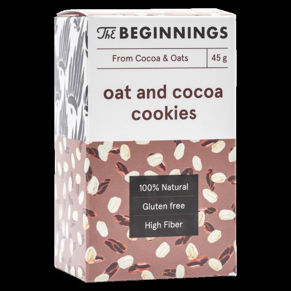 Kakao-Hafer Cookies
