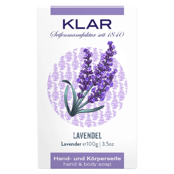 Klar Seifen Lavendel Seife