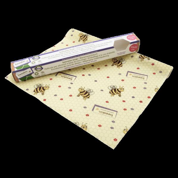 beeskin Bienenwachstuch Rolle Kids 30x95cm