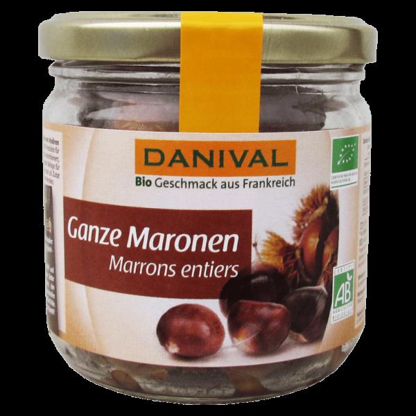 Danival Bio Ganze Maronen