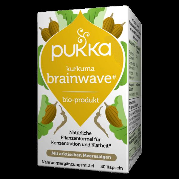 Pukka Bio Kurkuma brainwave Kapseln