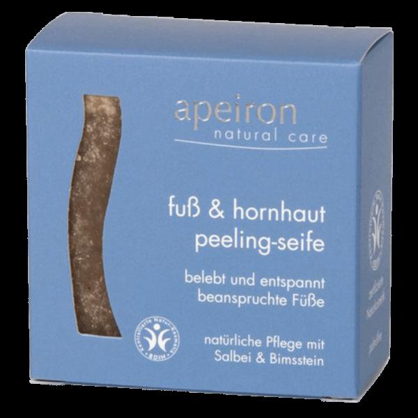 Apeiron Fuß & Hornhaut Peeling-Seife 100g