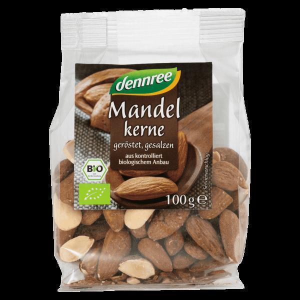 dennree Bio Mandeln geröstet & gesalzen