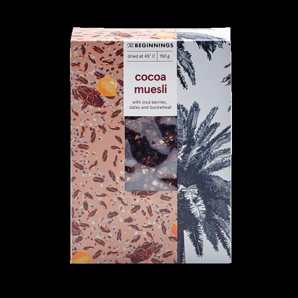 Kakao-Inkabeeren Granola