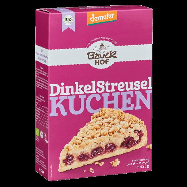 Bauckhof  Bio Dinkel Streusel Kuchen