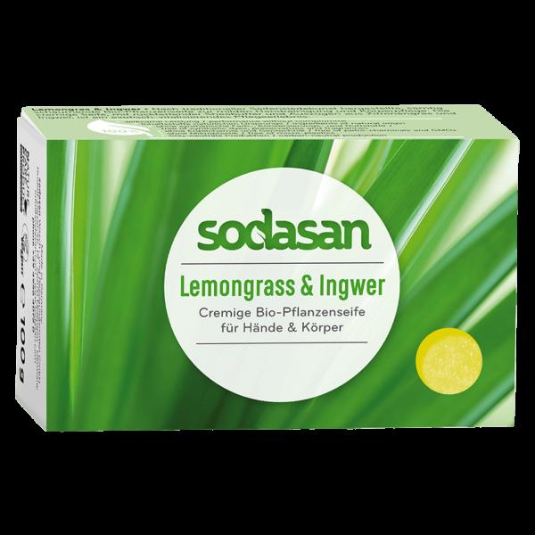 Sodasan Pflanzenseife Lemongrass