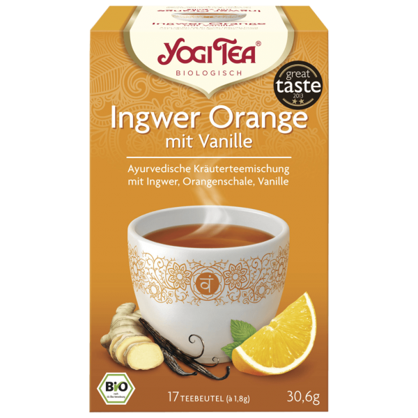 Yogi Tea Bio Ingwer Orange Tee