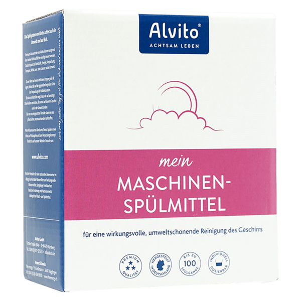 Alvito Maschinenspülmittel Nachfüllbeutel, 1000g