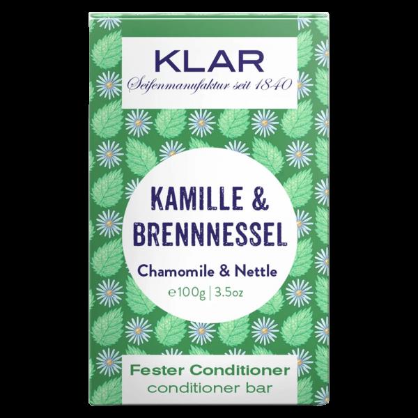 Klar Seifen Fester Conditioner Kamille & Brennnessel