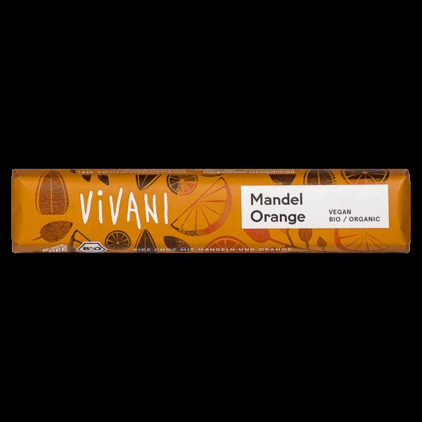 Vivani Bio Mandel Orange Schokoriegel