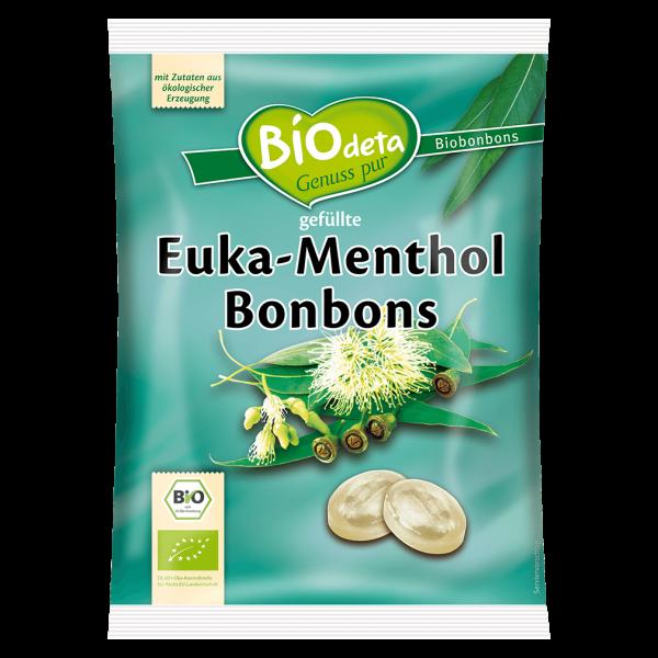 Biodeta Bio Eukalyptus und Menthol Bonbons