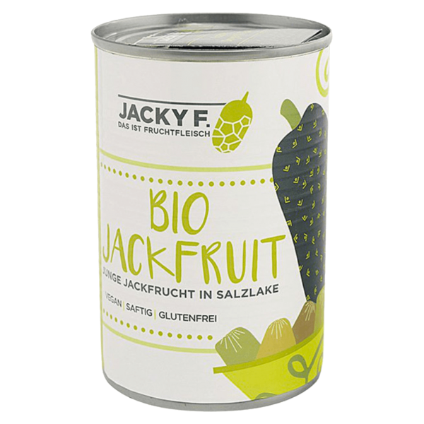 Jacky F. Jackfruit - Junge Jackfrucht in Salzlake
