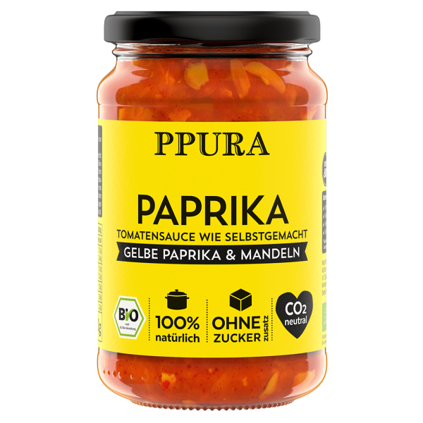 PPura Bio Tomaten Sugo Paprika