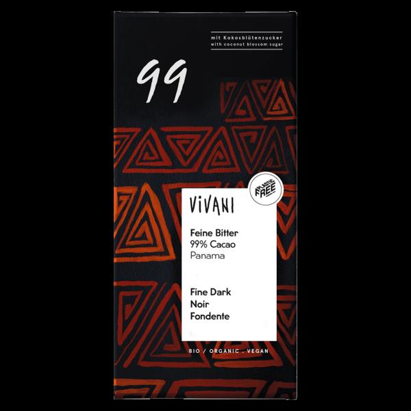 Vivani Bio Feine Bitter 99 % Cacao