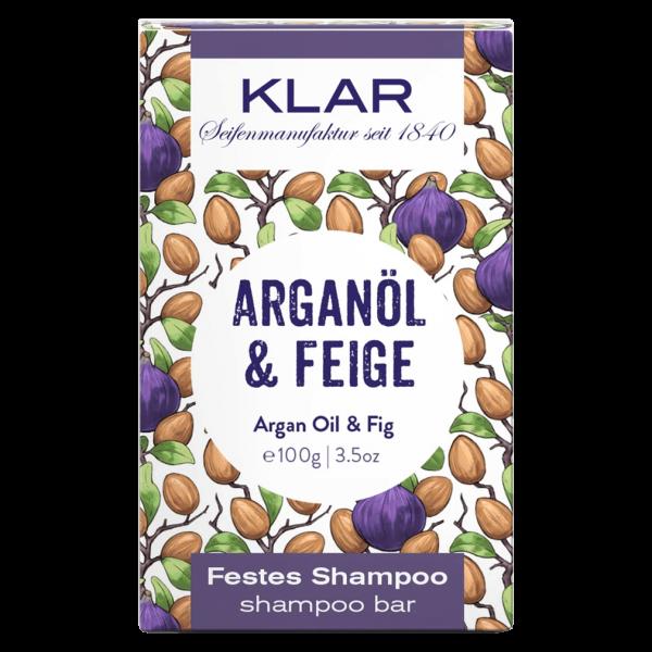 Klar Seifen Festes Shampoo Arganöl & Feige