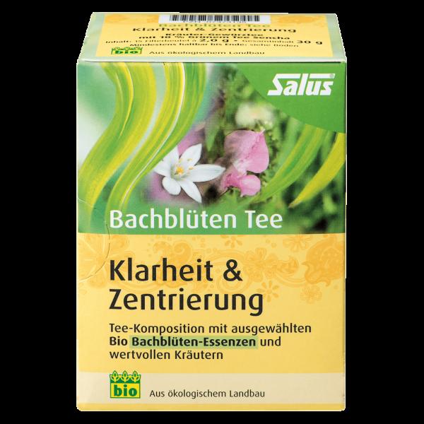 """Salus Bio Bachblüten Tee """"Klarheit & Zentrierung"""", 15Btl"""