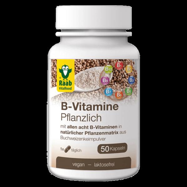Raab Vitalfood B-Vitamine Pflanzlich