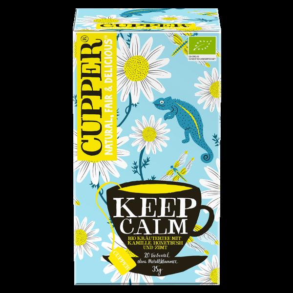 Cupper  Bio Keep Calm Tee, 35g