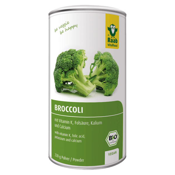 Raab Vitalfood Bio Broccoli Pulver