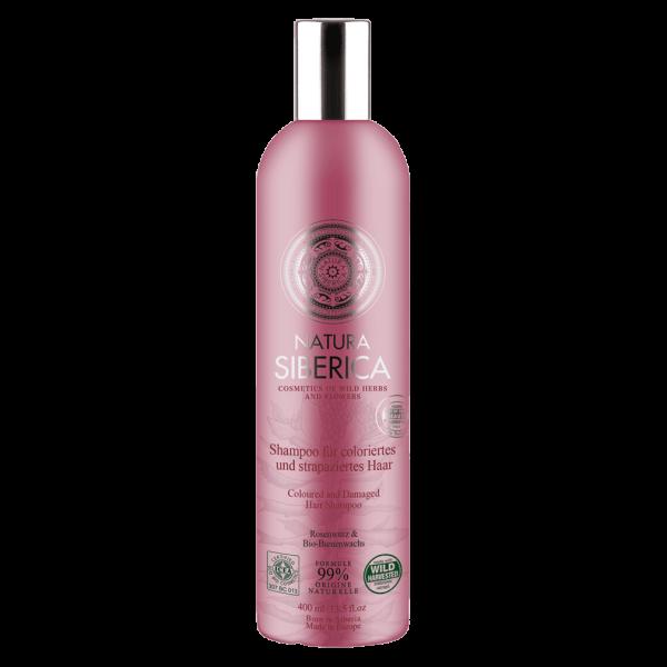 Natura Siberica Shampoo für coloriertes und strapaziertes Haar