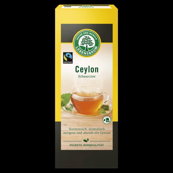 Lebensbaum Bio Ceylon Schwarztee