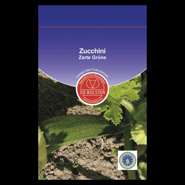DE Bolster Bio Zucchini, Zarte Grüne