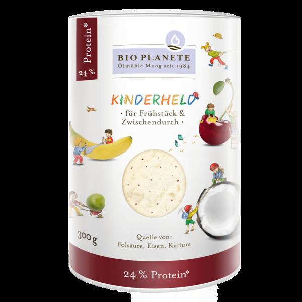 Bio Planète – Ölmühle Moog GmbH Bio Kinderheld Protein-Pulver