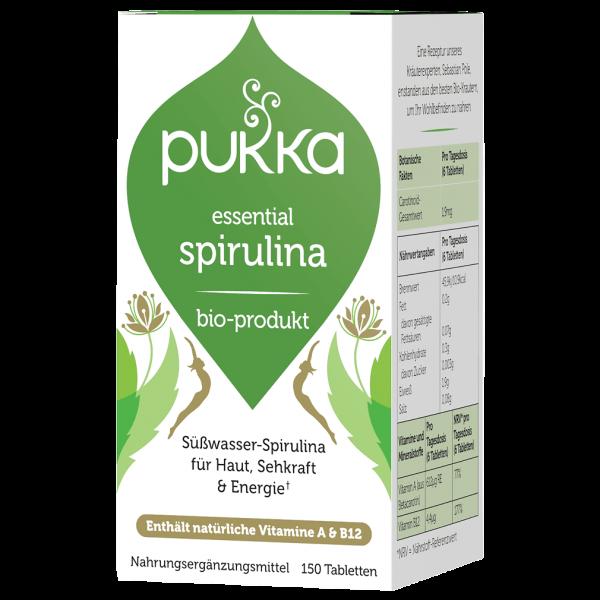 Bio Essential Spirulina, 150 Tabletten