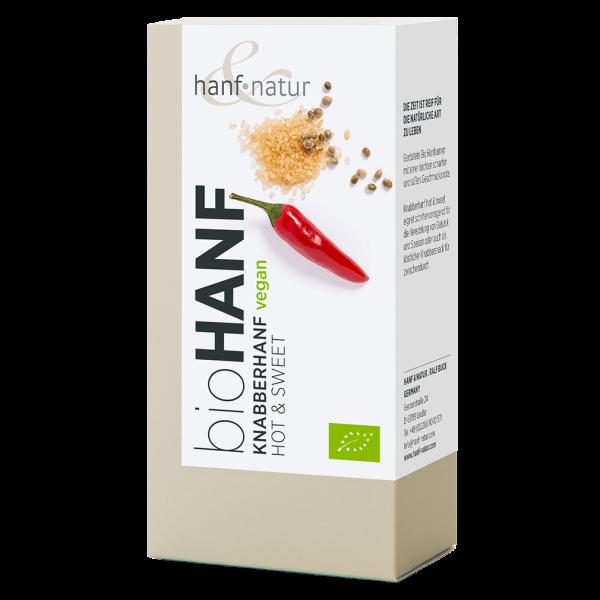 hanf natur Bio Knabberhanf Hot & Sweet, 100g