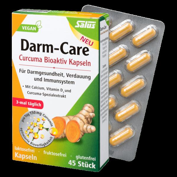 Salus Darm-Care Curcuma Bioaktiv Kapseln, 45 St