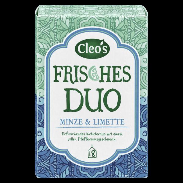 Cleo's Bio Frisches Duo Tee