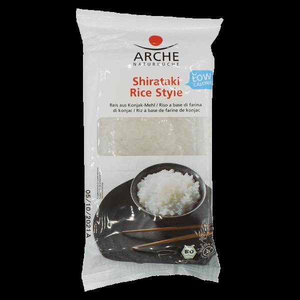 Arche Naturküche Bio Konjak Shirataki Rice Style