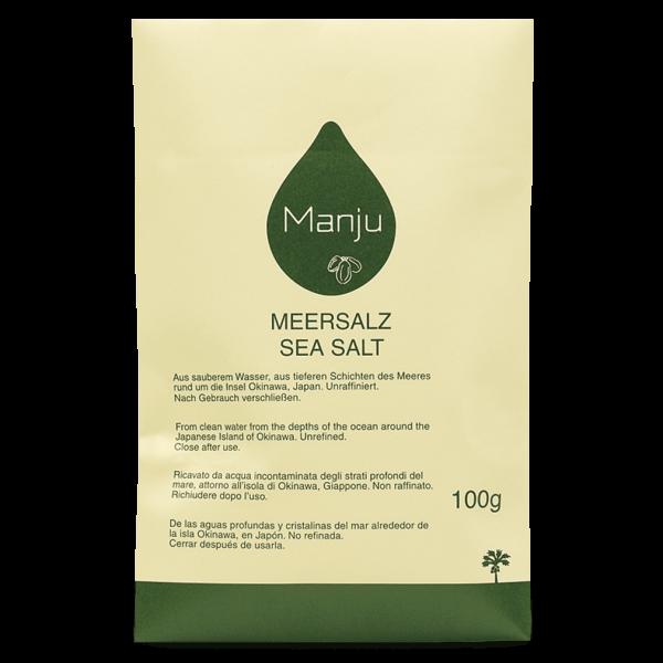 Manju Meersalz, 100g Nachfüllpackung