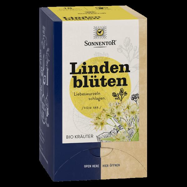 Sonnentor Bio Lindenblüten Tee, 18 Beutel