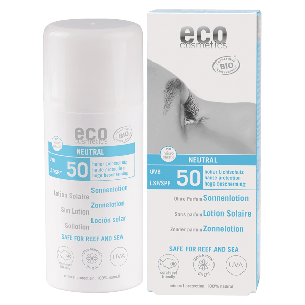 Eco Cosmetics Sonnenlotion LSF50 neutral