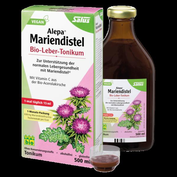 Salus Alepa® Mariendistel Bio-Leber-Tonikum, 500ml