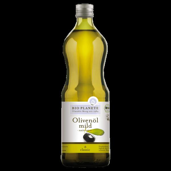 Bio Olivenöl mild nativ extra, 1 l